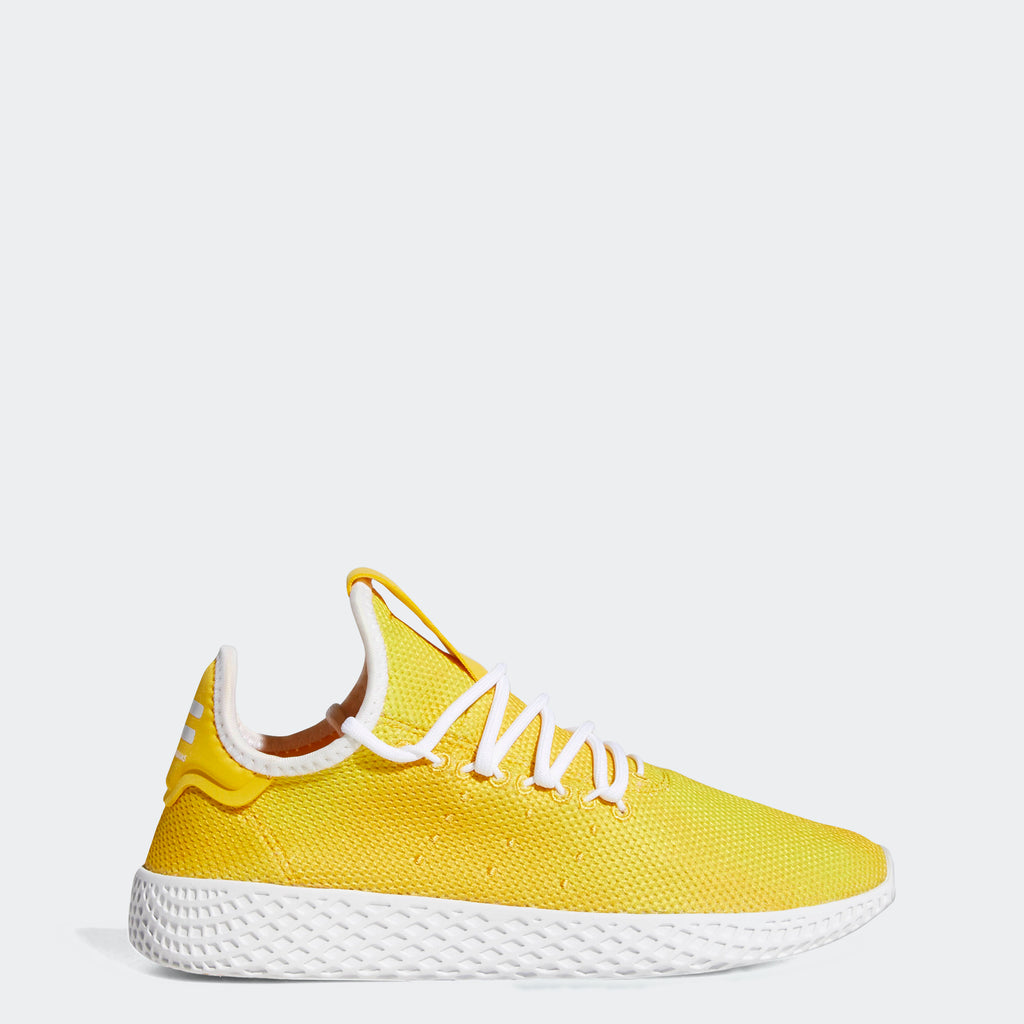 Kid's adidas Originals Pharrell Williams Tennis Hu Shoes Bold Orange AP9965 | Chicago City Sports | side view