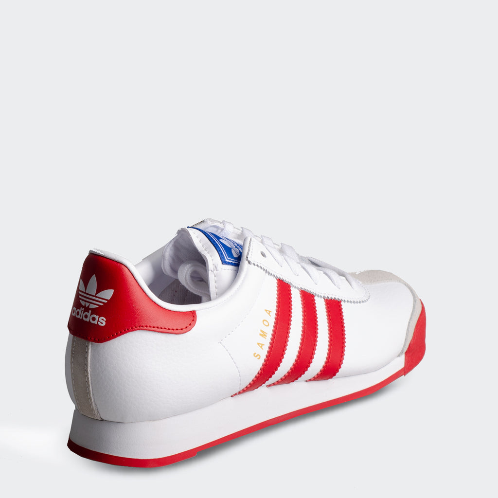 Men's adidas Originals Samoa Shoes White Red
