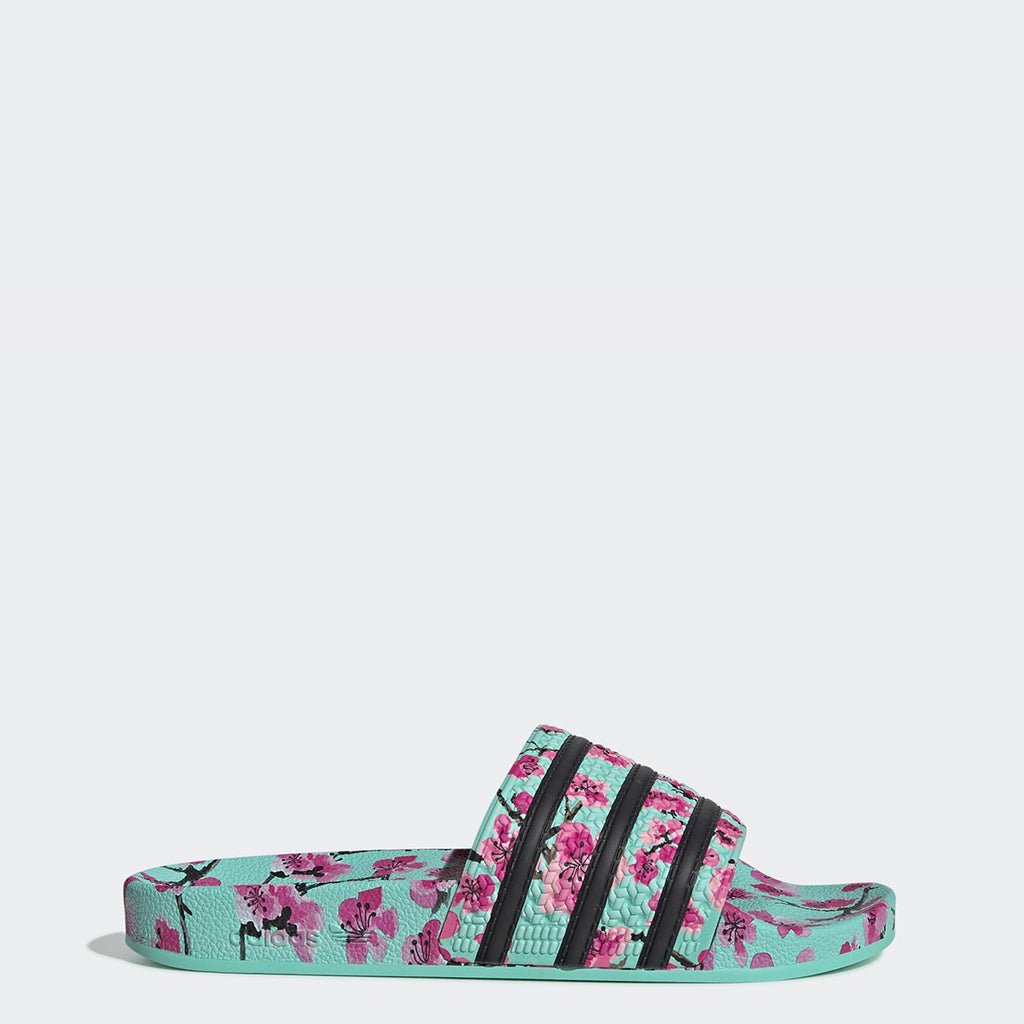 Men's adidas Originals Adilette Slides AriZona Green Tea