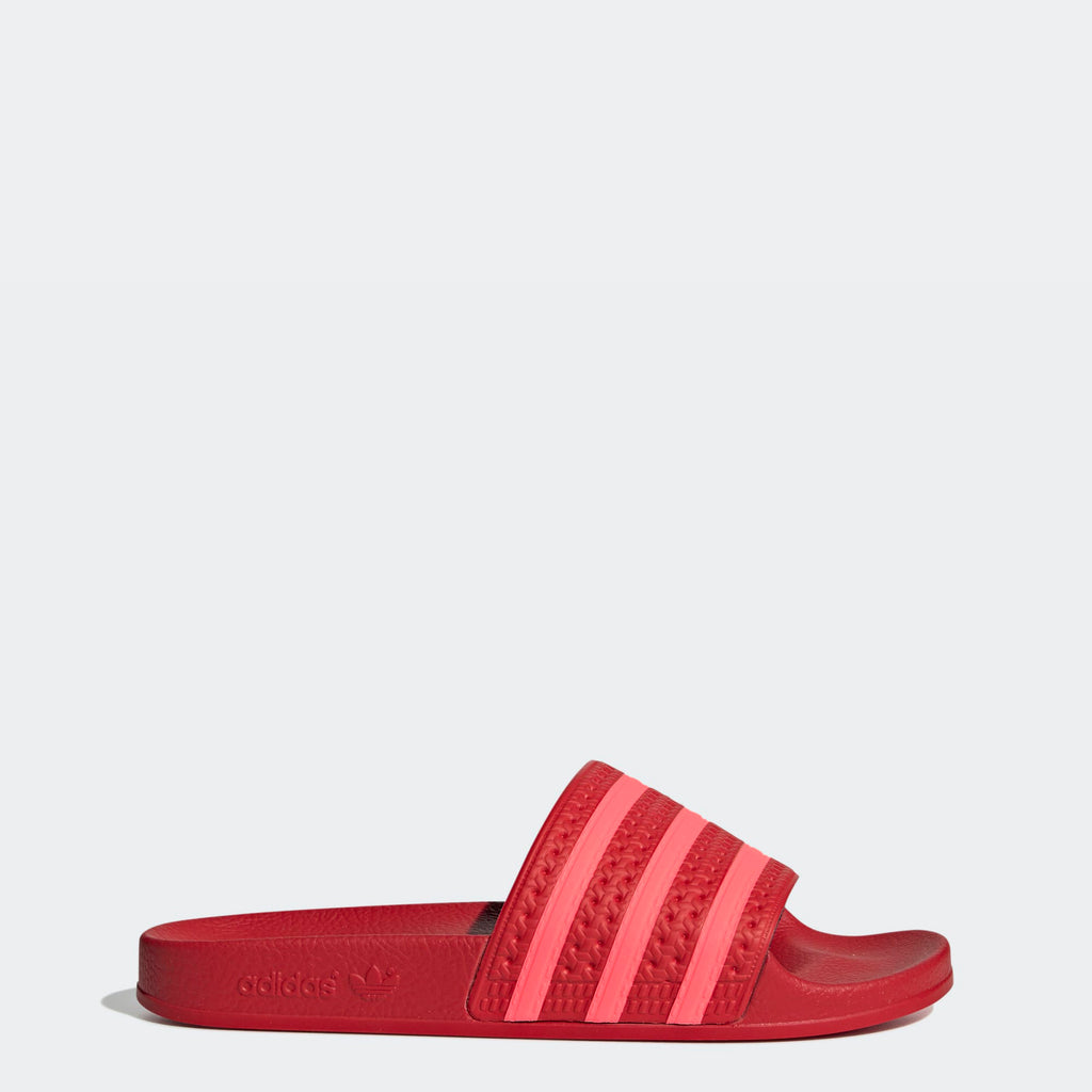 Women's adidas Originals Adilette Slides Red
