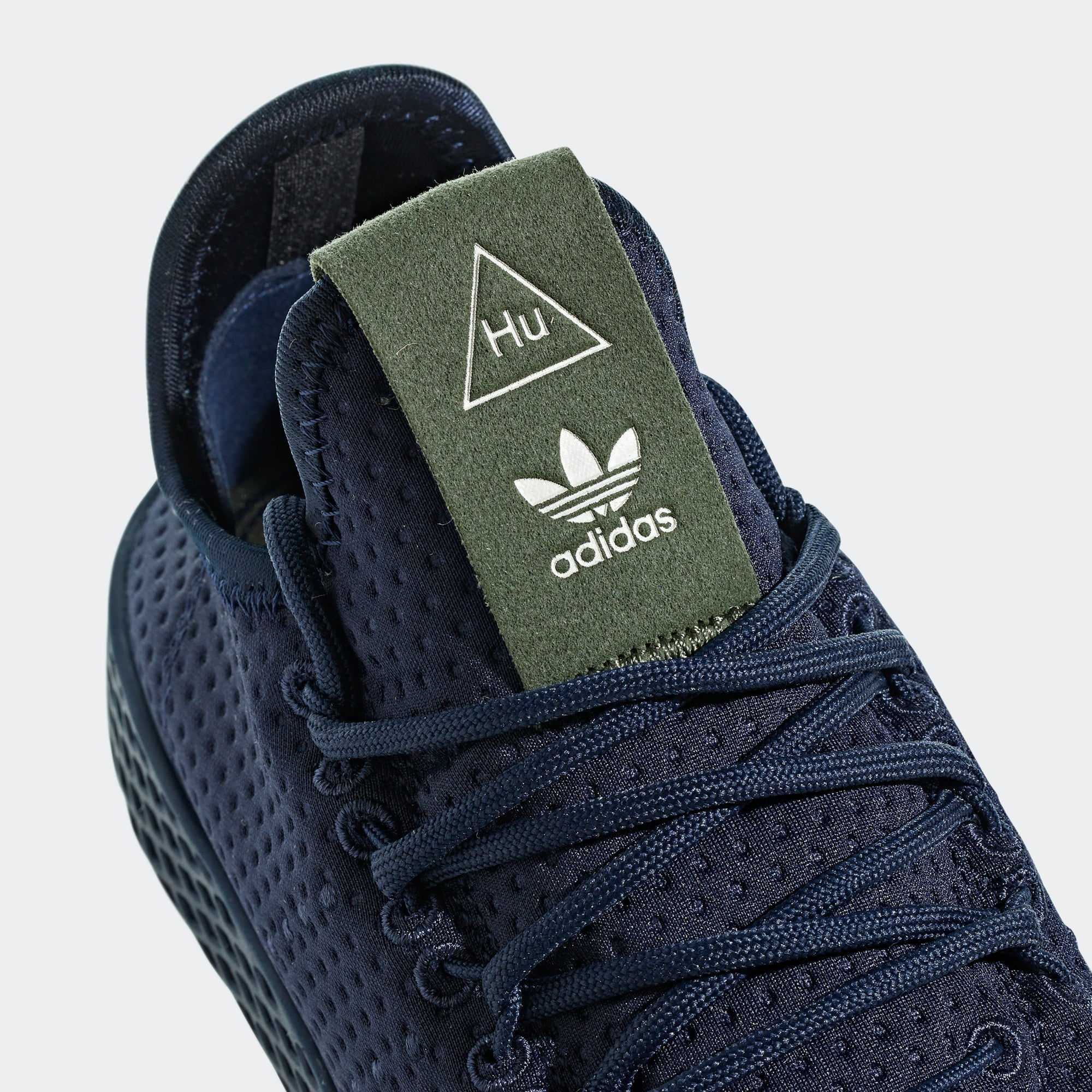 Pharrell Williams Tennis Hu Shoes Collegiate Navy 12.5 Mens