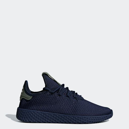Kid's adidas Originals Pharrell Williams Tennis Hu Shoes Collegiate Navy
