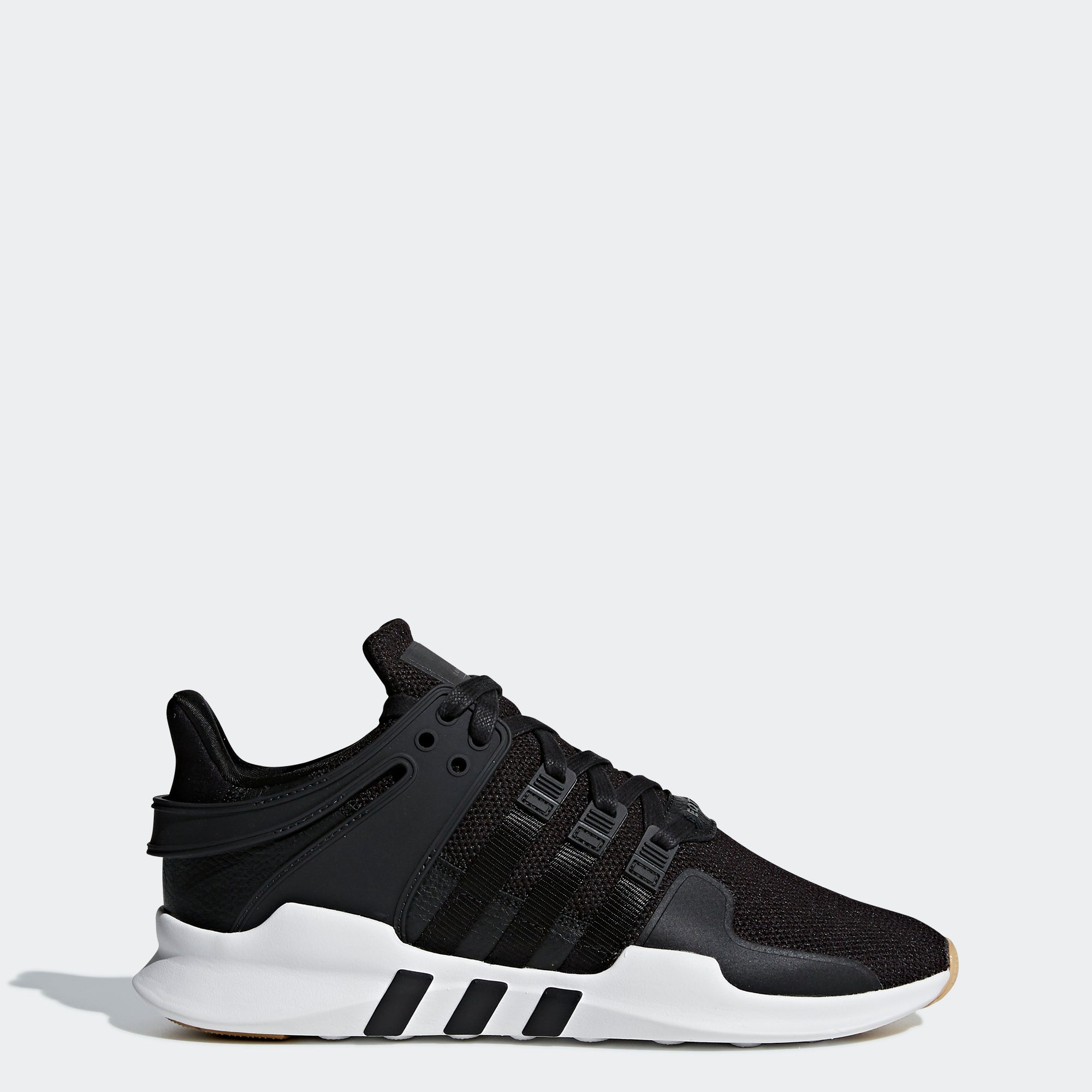 new arrival b4303 2ac9f Mens adidas Originals EQT Support ADV Shoes Core Black Gum