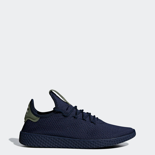 Men's adidas Originals Pharrell Williams Tennis Hu Shoes Collegiate Navy