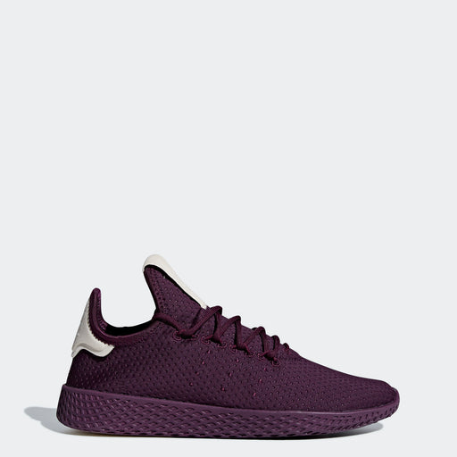 Women's adidas Originals Pharrell Williams Tennis Hu Shoes Red Night