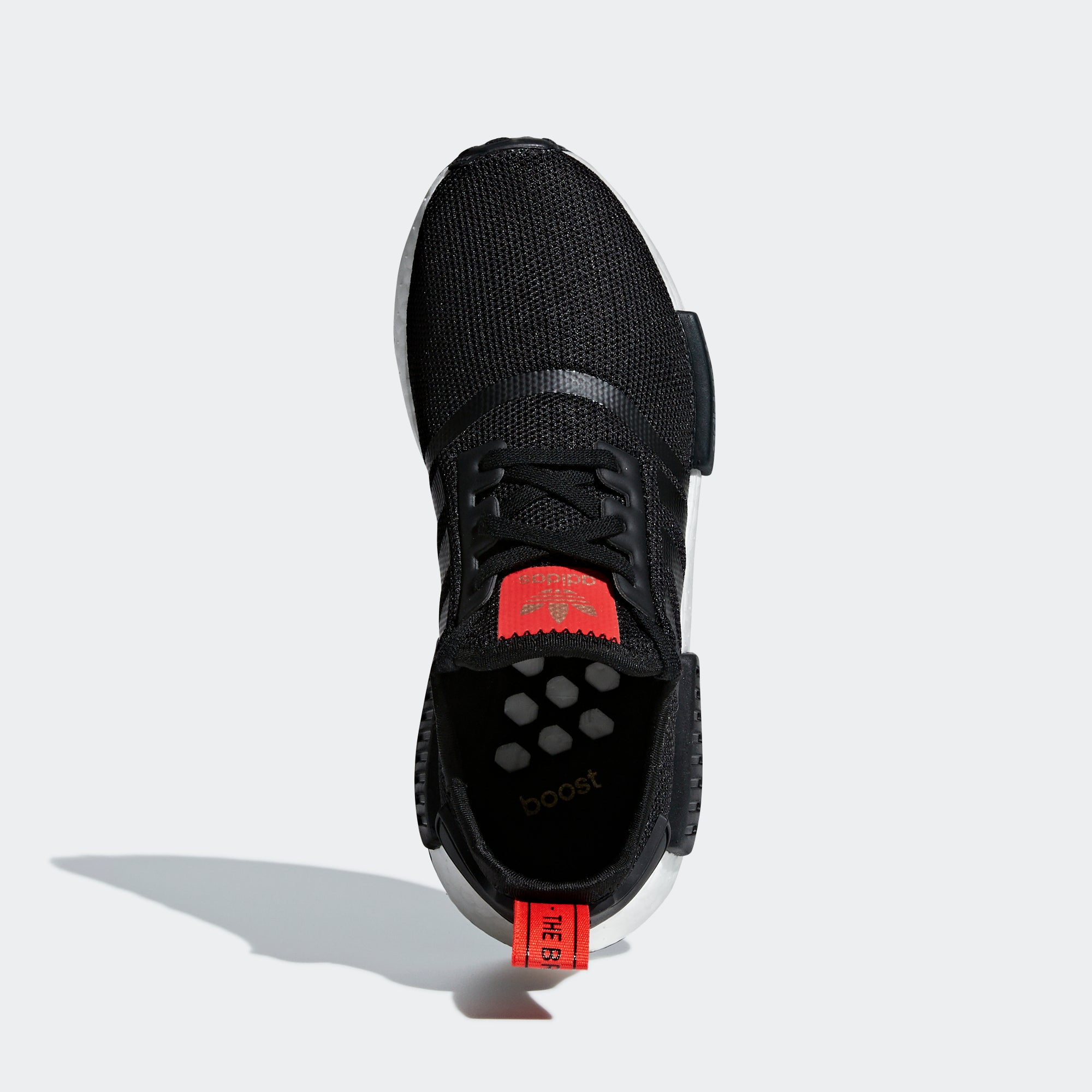 best sneakers 256ec 5d65d adidas NMD_R1 Shoes Black Red B42087 | Chicago City Sports