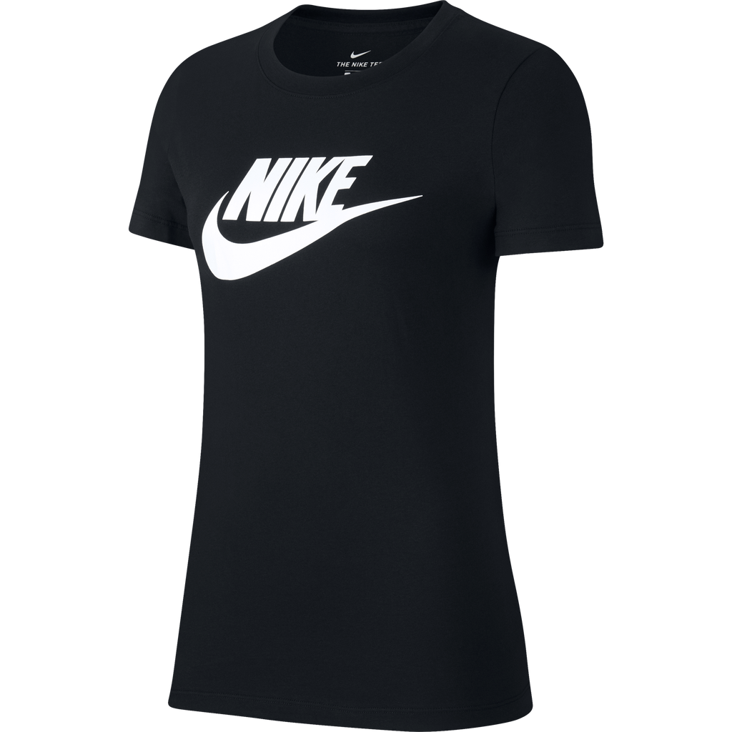 Nike Sportswear Essential Tee Black BV6169010 | Chicago City Sports | front view