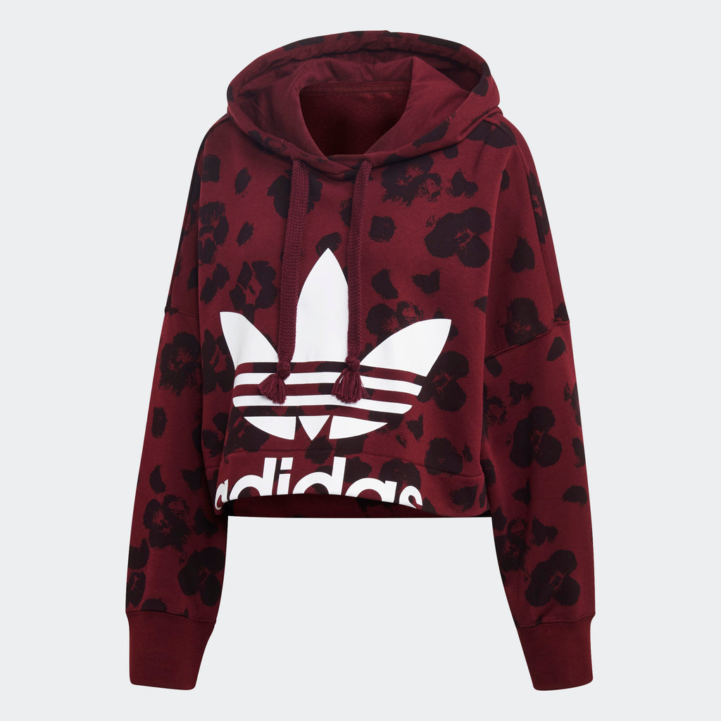 Women's adidas Originals Bellista Cropped Hoodie
