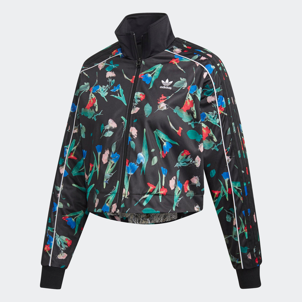 Women's adidas Originals Bellista Allover Print Track Jacket