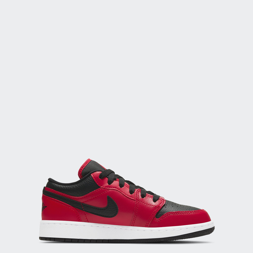 "Big Kids' Air Jordan 1 Low GS ""Reverse Bred"" 553560-605 