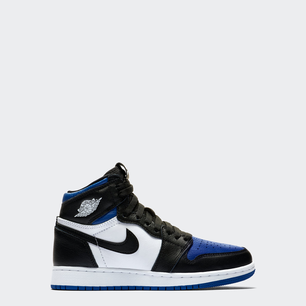 "Big Kids' Air Jordan 1 Retro High OG ""Royal Toe"" (Size 3.5Y-7Y)"