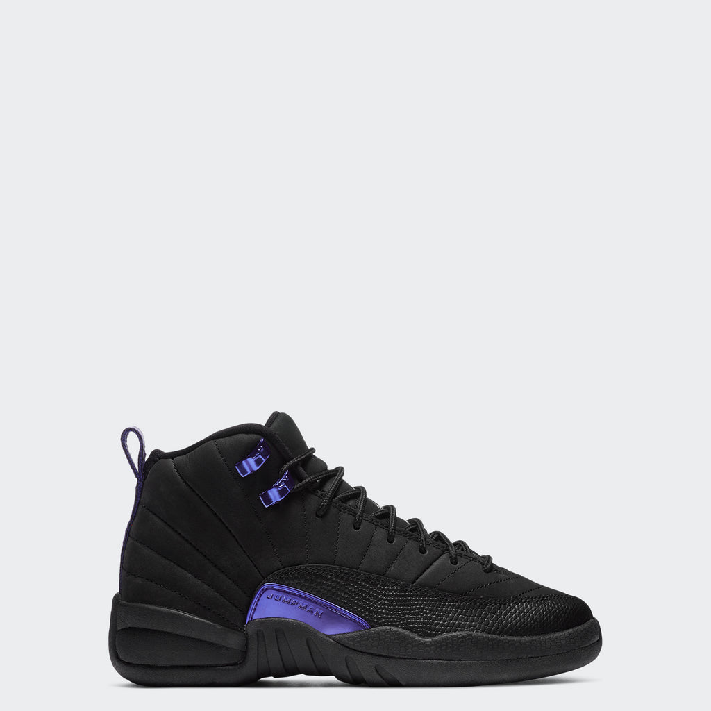 "Grade School Big Kids' Air Jordan 12 Retro GS ""Black Concord"" DH0905-005 