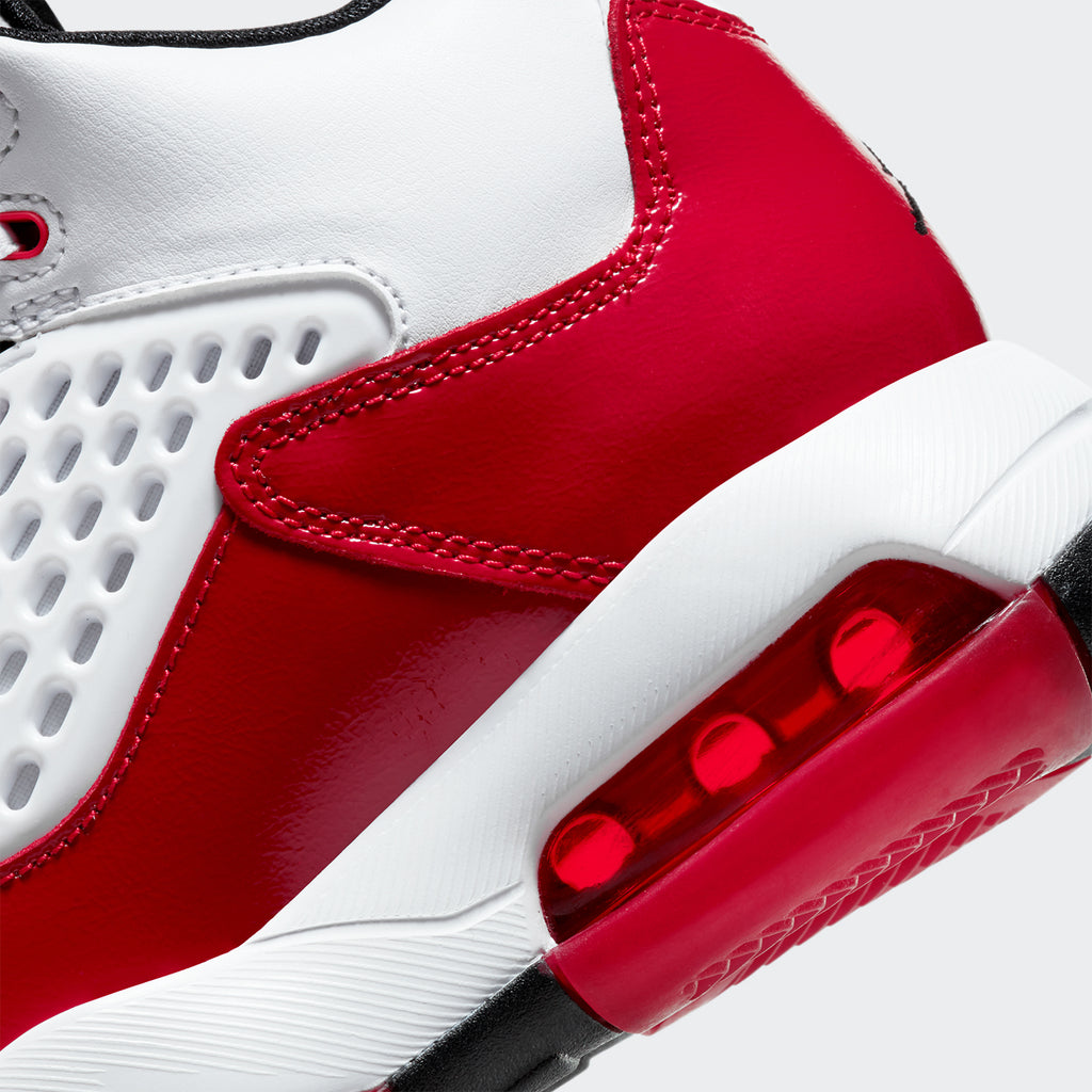 "Grade School Big Kids' Jordan Maxin 200 ""White Gym Red"" CD6123106 