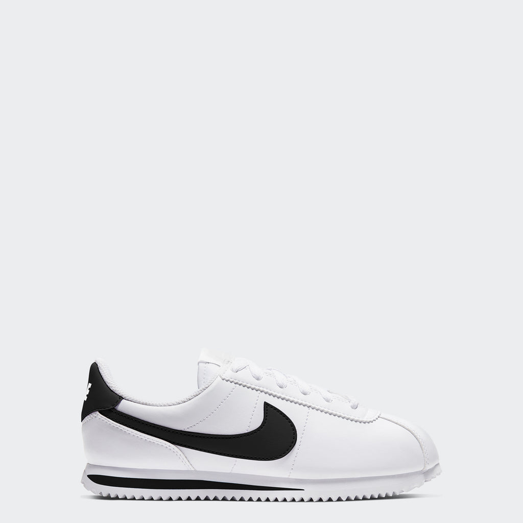 Big Kids' Nike Cortez Basic White