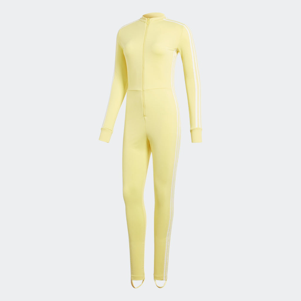 Women's Adidas Originals Stage Suit Yellow