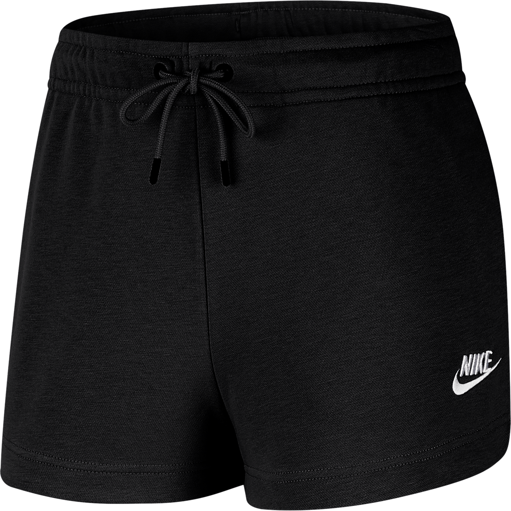 Women's Nike Sportswear French Terry Shorts CJ2158-010 | Chicago City Sports | side view