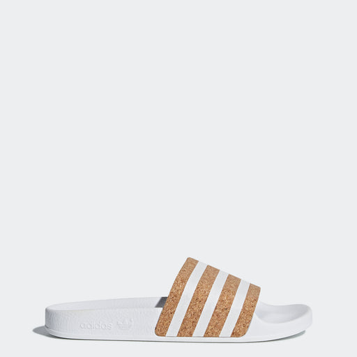 Women's adidas Originals Adilette Slides Cloud White Cork