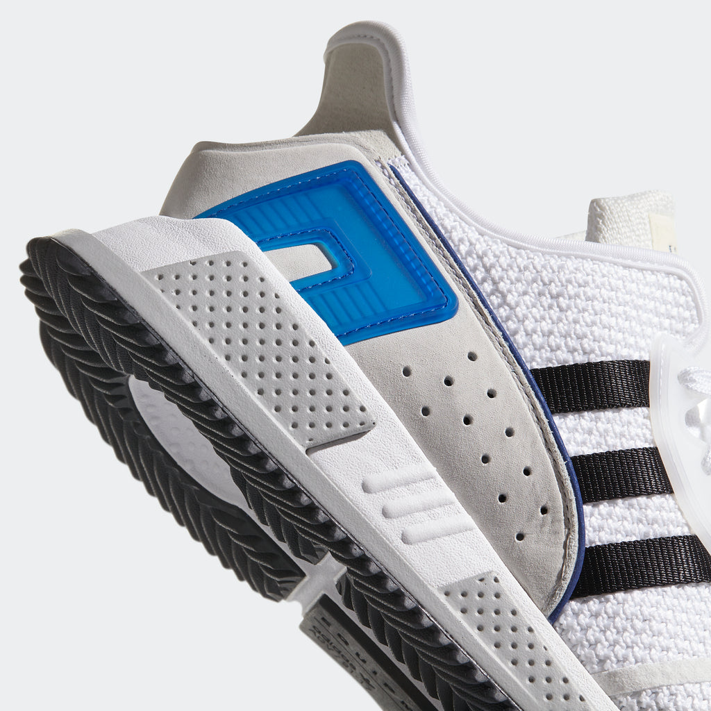 Men's adidas Originals EQT Cushion ADV Shoes White with Royal Blue