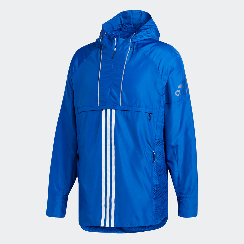 Men's adidas Athletics ID Woven Shell Jacket Collegiate Royal Blue