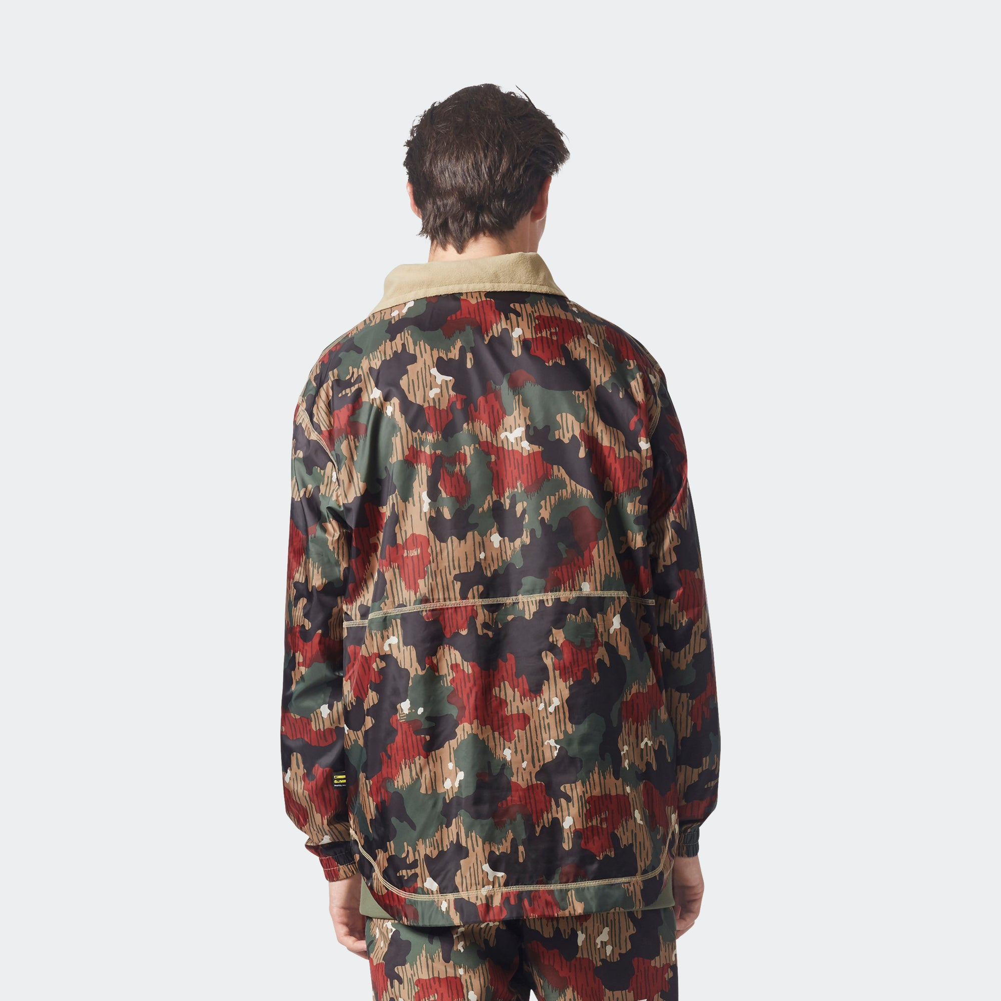 dde9f2743240b Men's adidas Originals Pharrell Williams Hu Hiking Camo Windbreaker ...