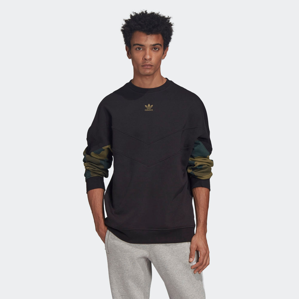 Men's adidas Originals Camouflage Crew Sweatshirt