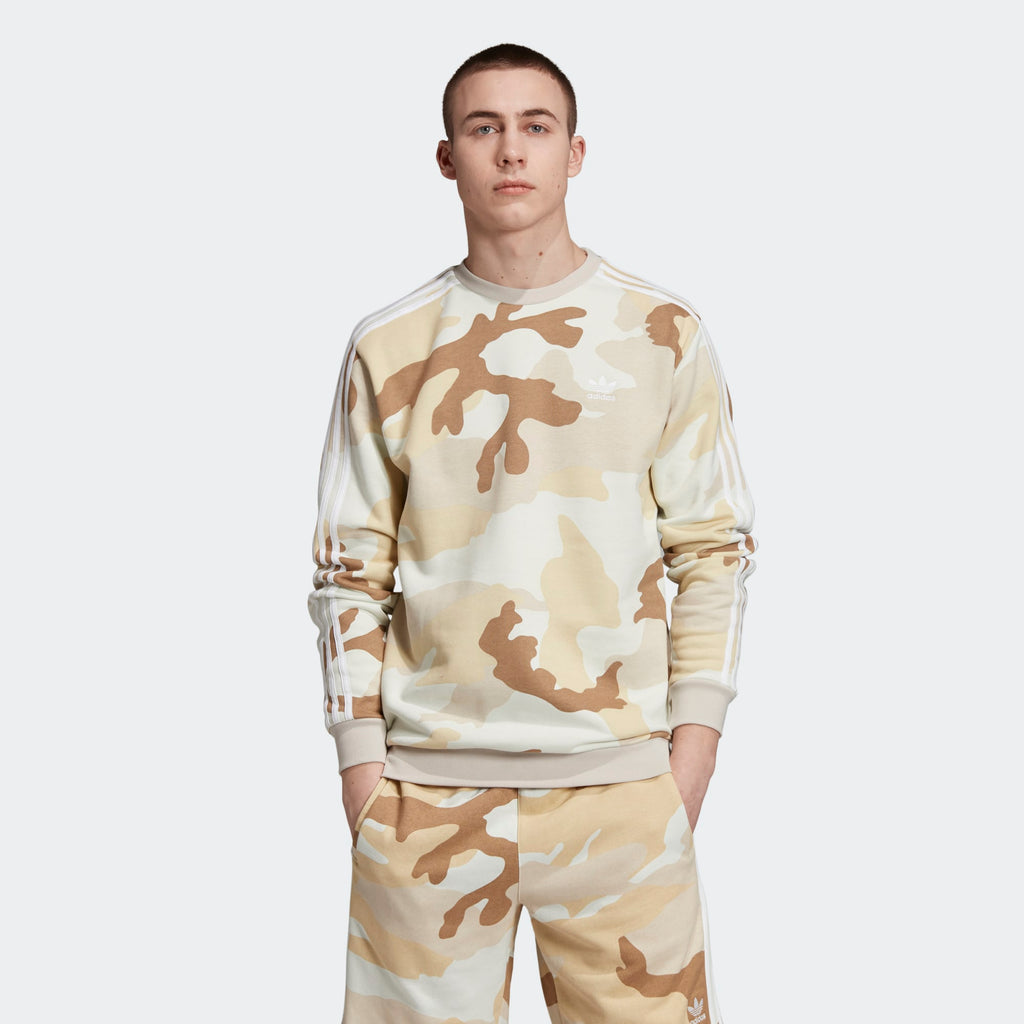 Men's adidas Originals Camouflage Crewneck Sweatshirt