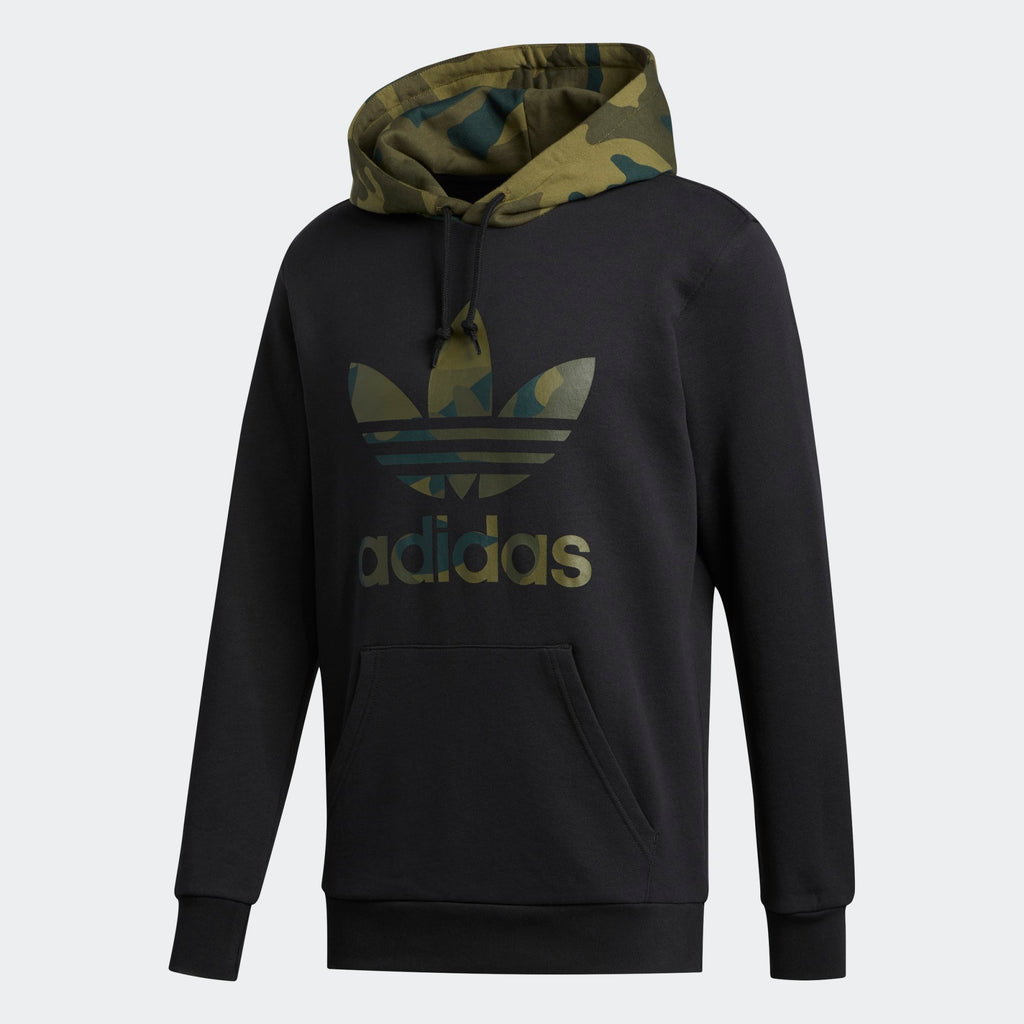 Men's adidas Originals Black Camouflage Hoodie