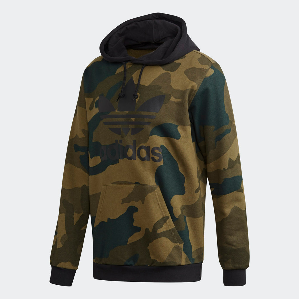 Men's adidas Originals Camouflage Black Hoodie