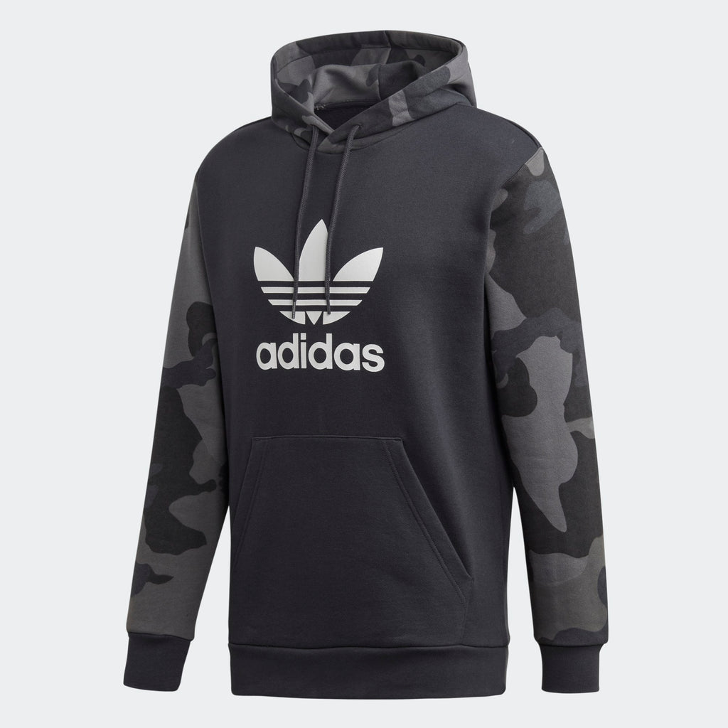 Men's adidas Originals Camouflage Hoodie Carbon