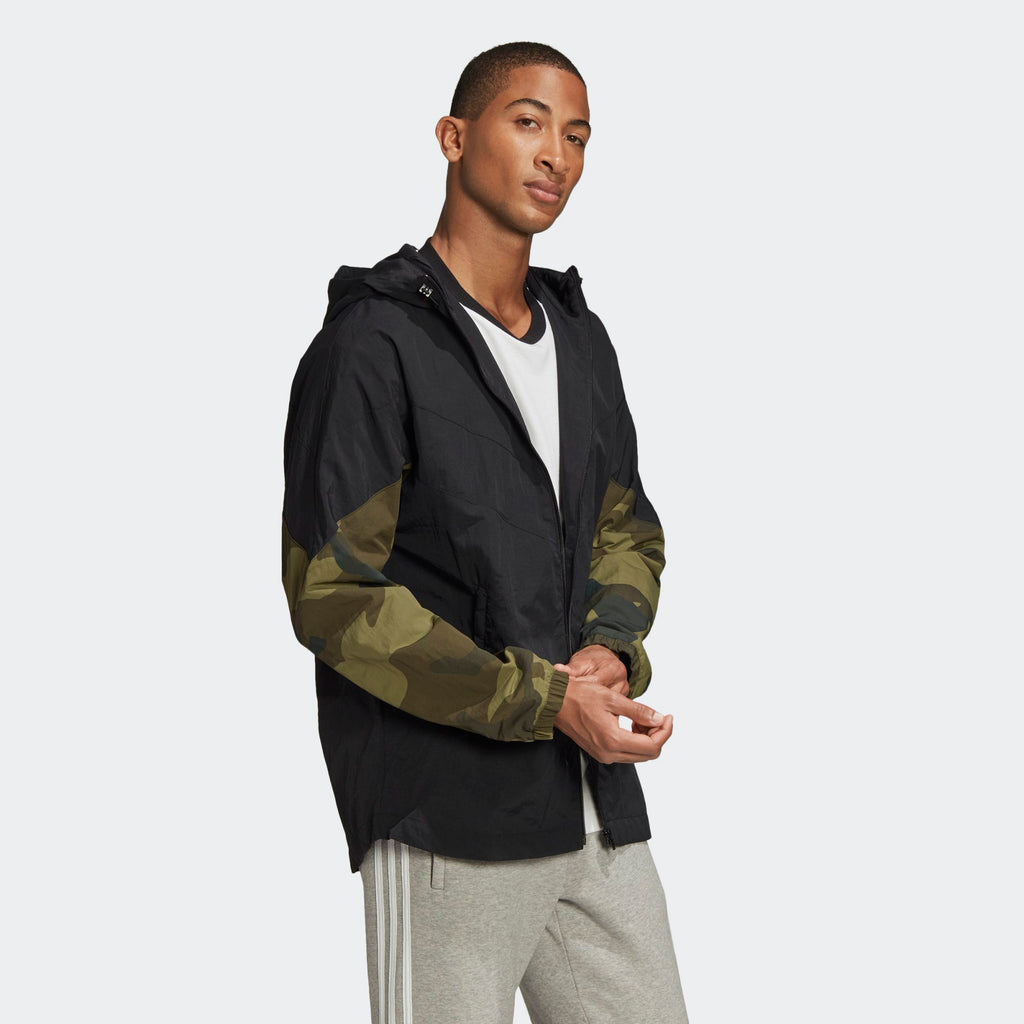 Men's adidas Originals Camouflage Windbreaker
