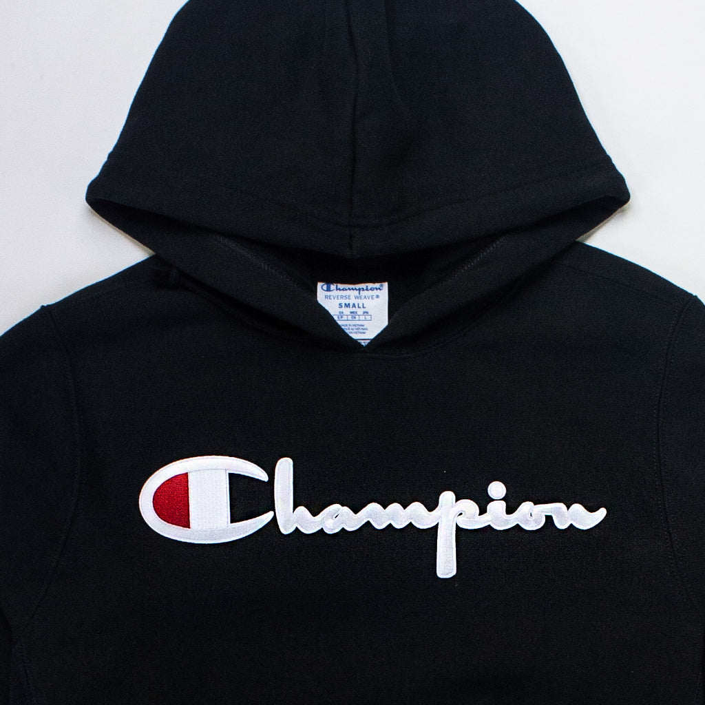 Men's Champion Reverse Weave Hoodie Black