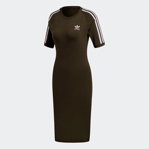 Women's Adidas Originals 3-Stripes Dress Night Cargo