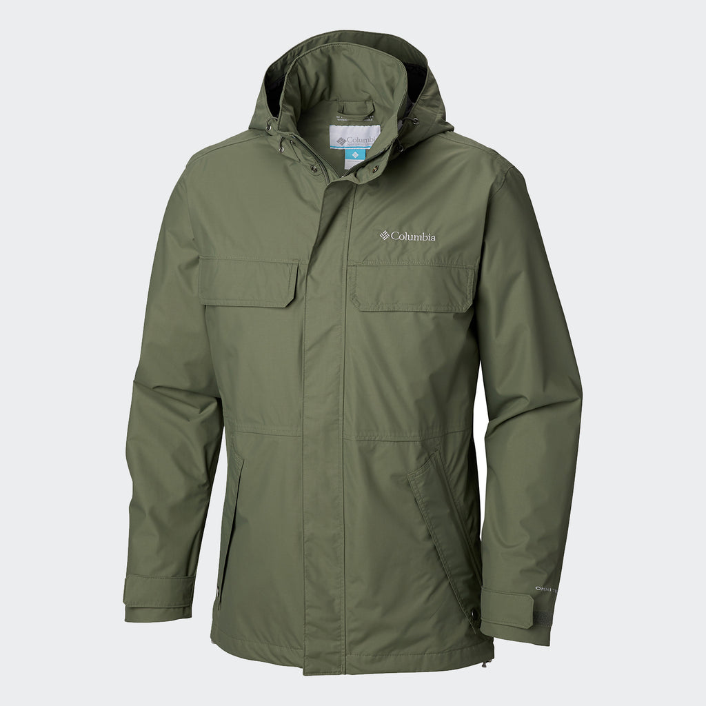 Men's Columbia Dr. DownPour II Jacket Cypress
