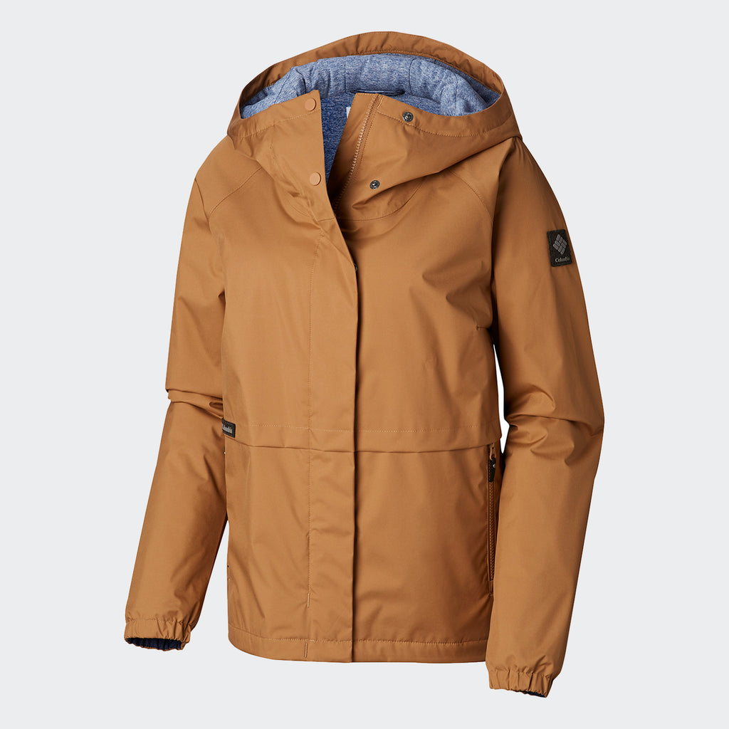 Women's Columbia Helvetia Heights Jacket Light Elk