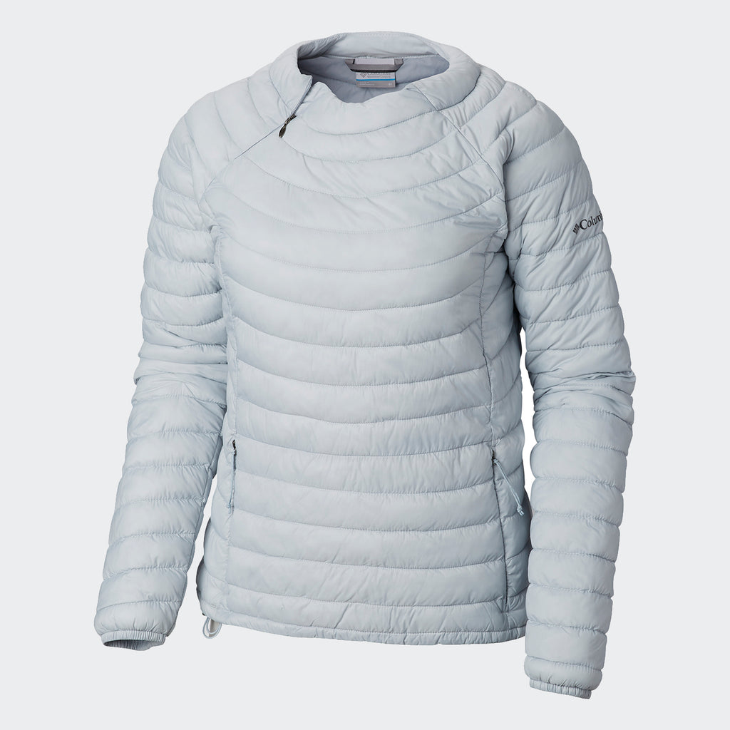 Women's Columbia Powder Pass Pullover Cirrus Grey