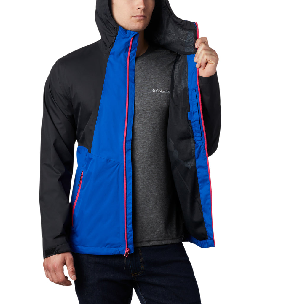 Unisex Columbia Inner Limits II Jacket Azul Blue