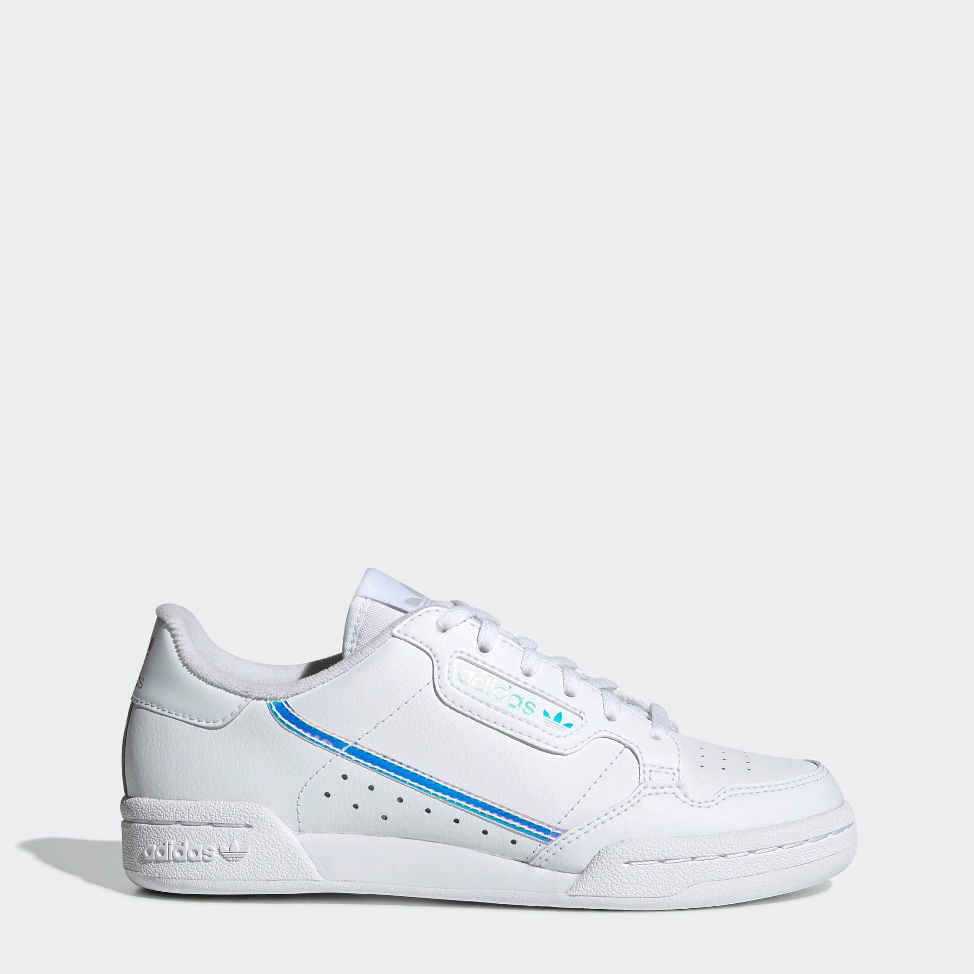 adidas Continental 80 Shoes White Iridescent | Chicago City ...