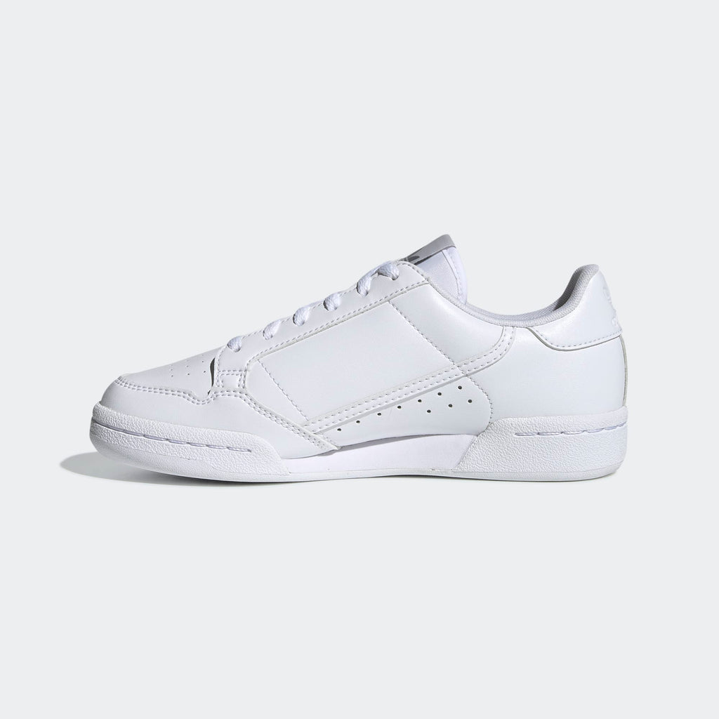 Kid's adidas Originals Continental 80 Shoes Cloud White Grey