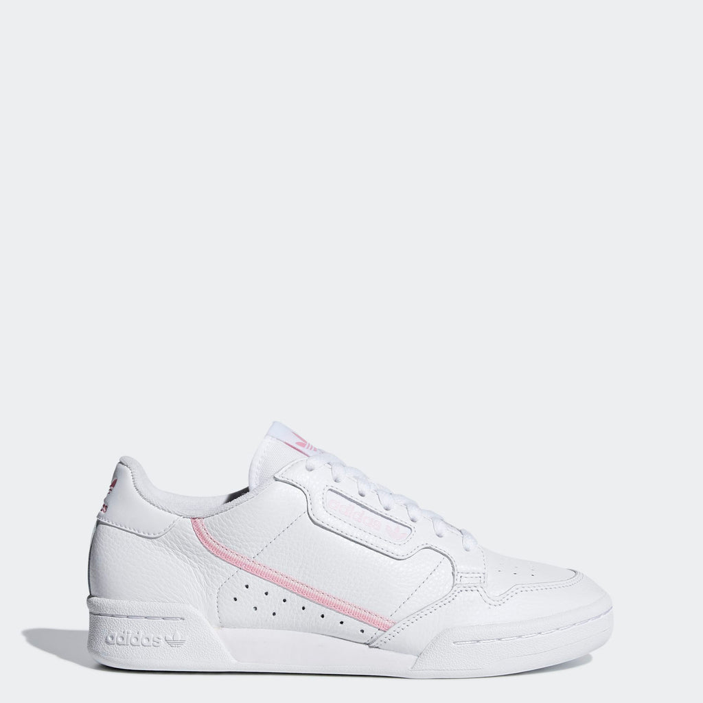 Women's adidas Originals Continental 80 Shoes White Pink