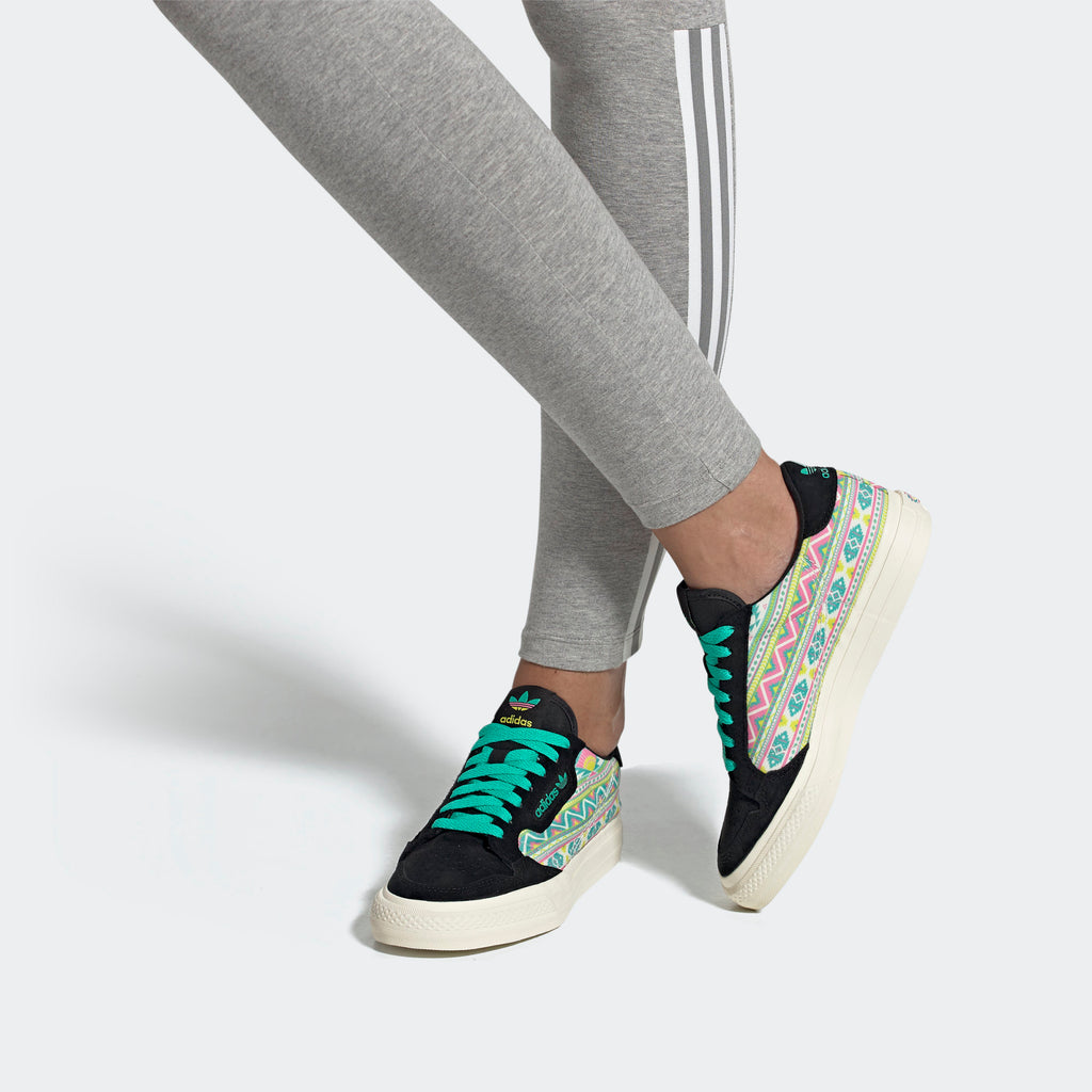 Women's adidas Originals Continental Vulc Shoes AriZona Lemon Tea