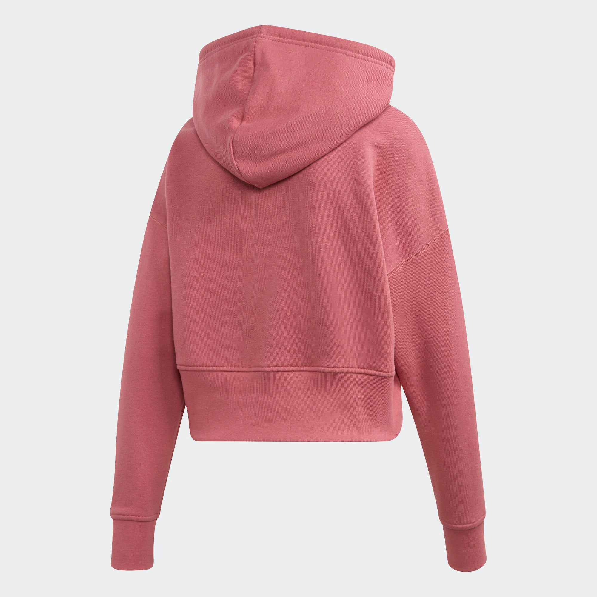 crazy price nice shoes look good shoes sale Women's adidas Originals Cropped Maroon Hoodie - XS / RED