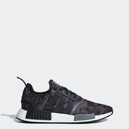 Men's adidas Originals NMD_R1 Shoes Black Camo