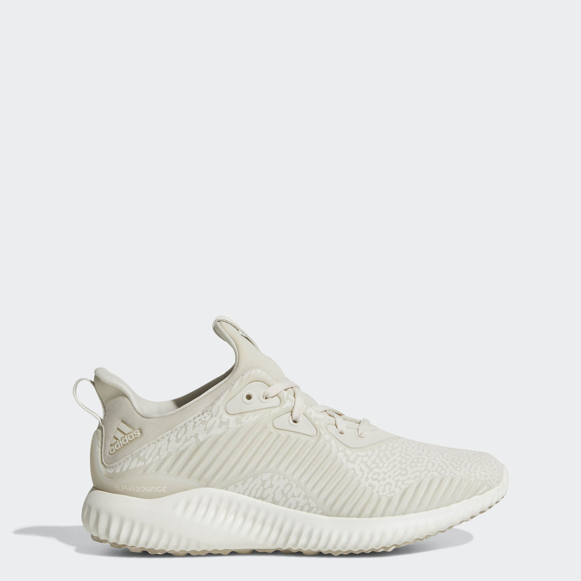 online store be1a6 40da2 Kid s adidas Running Alphabounce Reflective HPC AMS Shoes Clear Brown