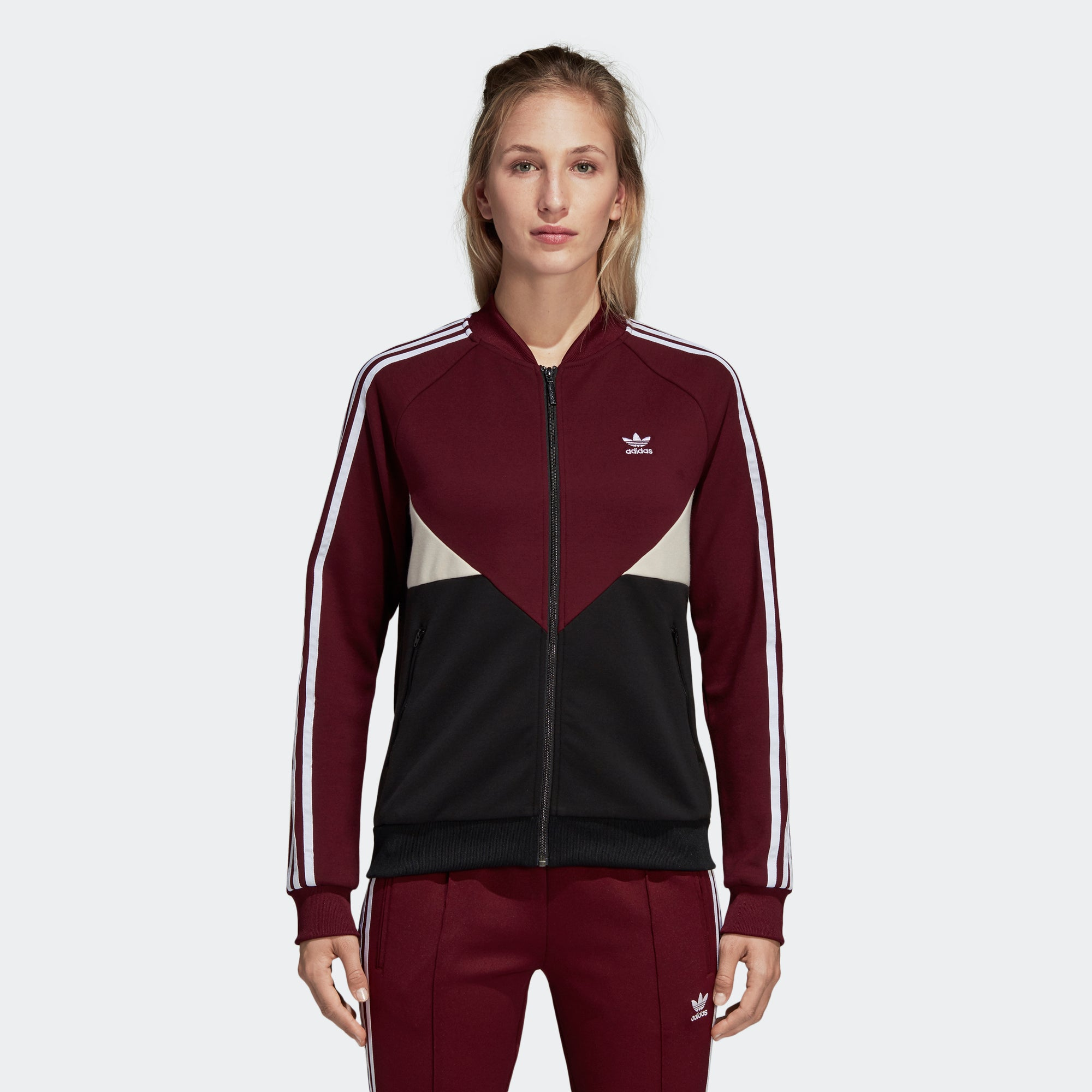 adidas CLRDO Track Jacket Red DH3002 | Chicago City Sports