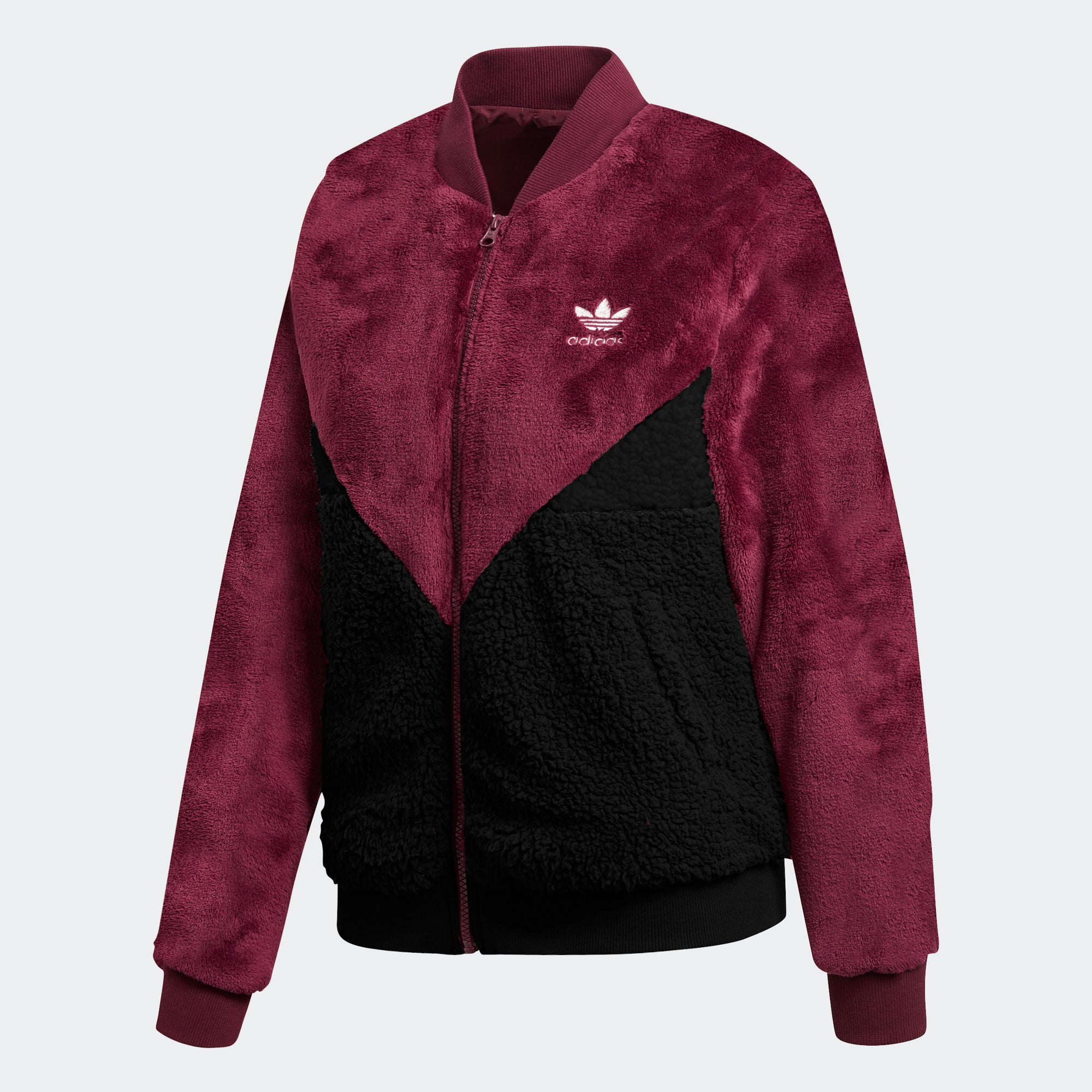 new product beauty on wholesale adidas CLRDO Track Jacket Red DH3002   Chicago City Sports