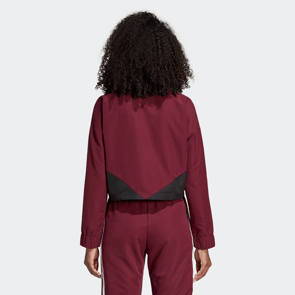 Women's adidas Originals CLRDO Sweatshirt Maroon