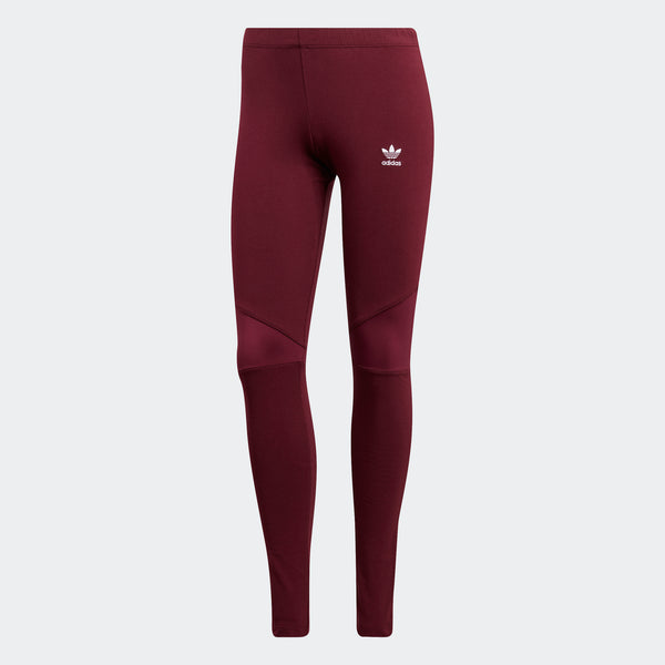 adidas leggings maroon