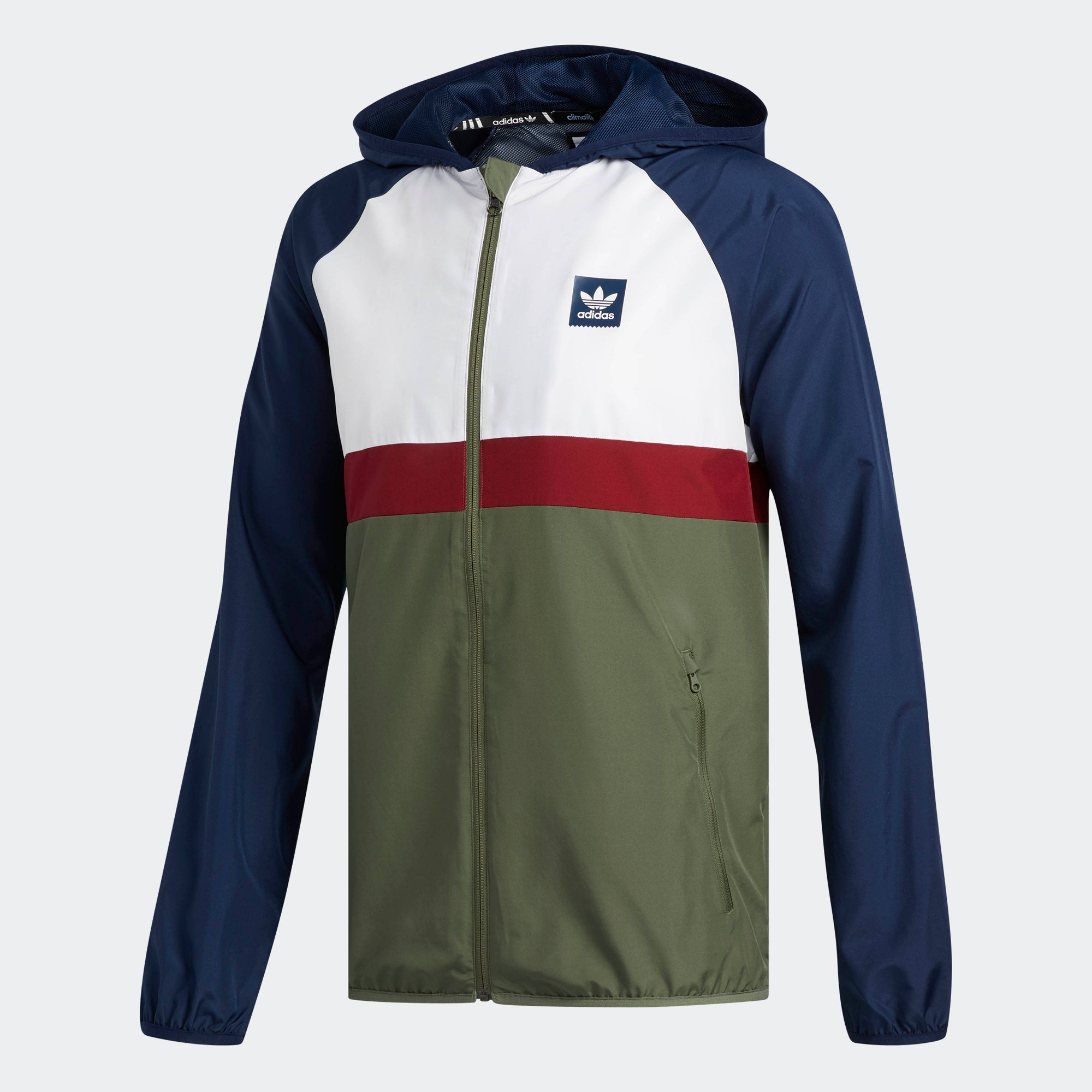 561ec289cc adidas BB Packable Wind Jacket Navy DH3873 | Chicago City Sports