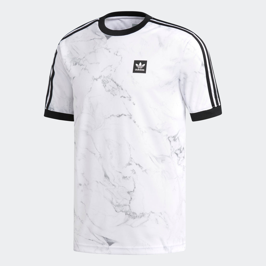 Men's adidas Originals Marble Clima Club Jersey White