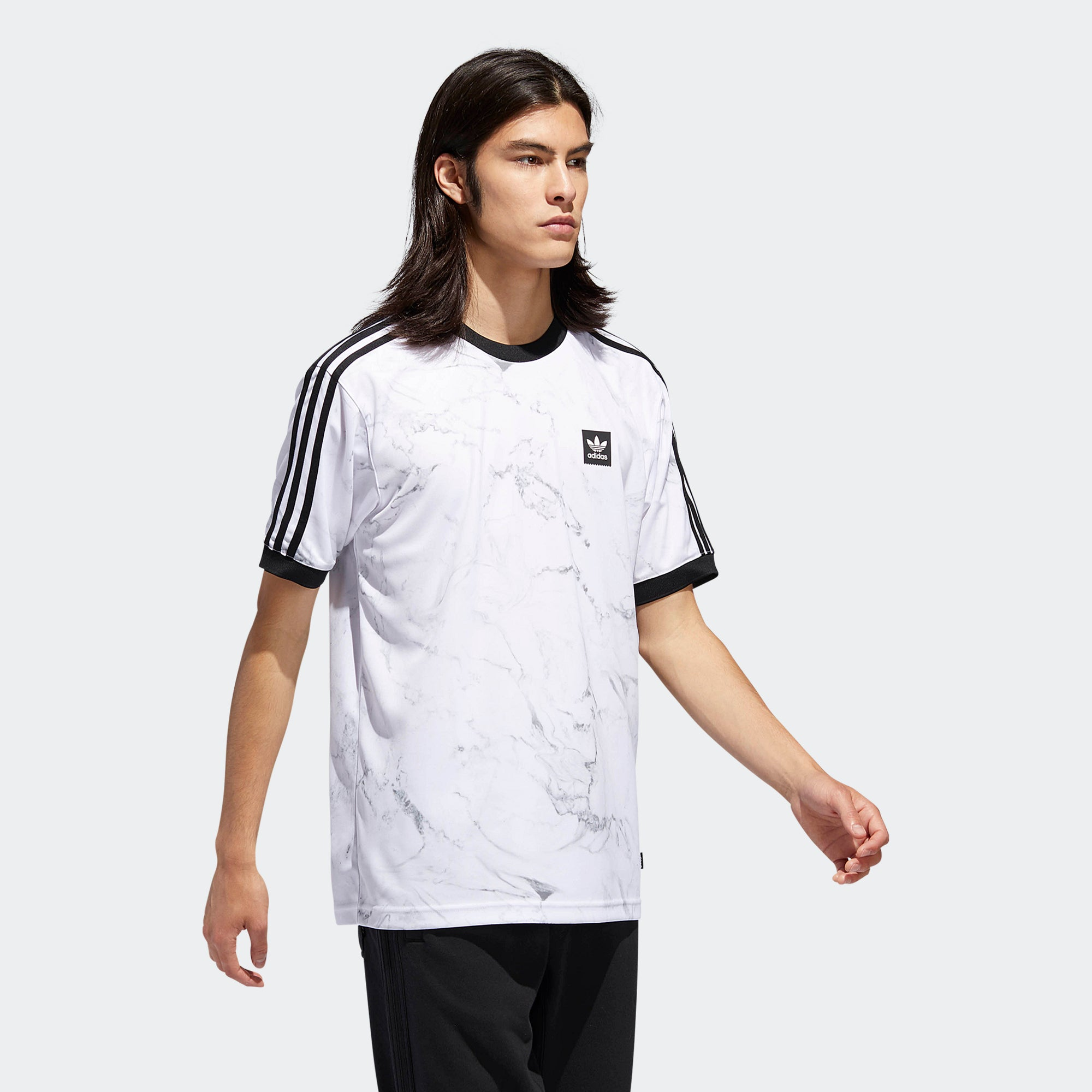 adidas Marble Clima Club Jersey White DH3889 | Chicago City